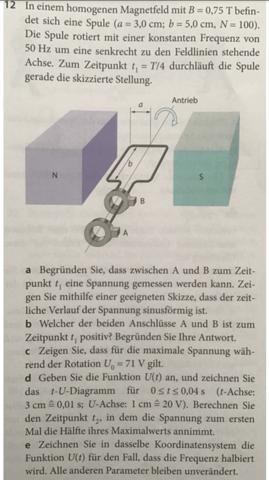 Magnetfeld- Frequenz - Spule?