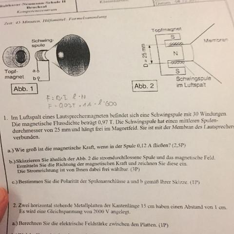 Hilfe - (Schule, Physik, Formel)