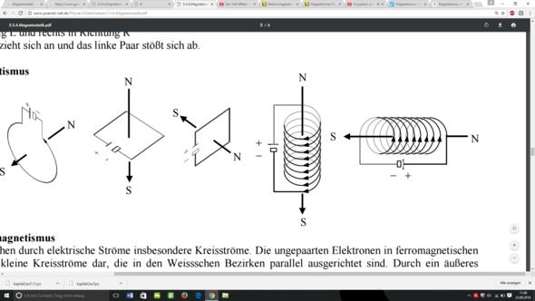 Lösung - Spule - (Mathematik, Physik, Magnetismus)