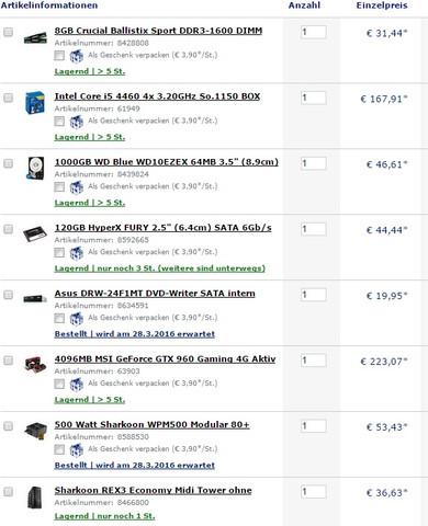 Der PC - (PC, Hardware, Mainboard)