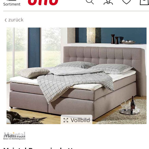maintal boxspringbett von erfahrungen online shop bett katalog. Black Bedroom Furniture Sets. Home Design Ideas