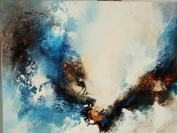 Malen mit acryl wie bekomme ich das so hin kunst k nstler malerei - Malen mit acryl auf leinwand ...