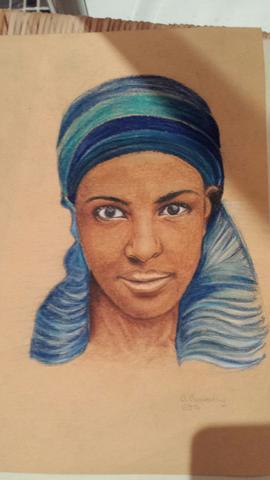 mein portrait - (Kunst, zeichnen, malen)