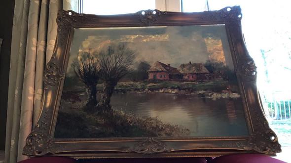 Gemälde  - (Künstler, Maler, Malerei)