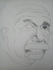 Albert Einstein (In bearbeitung) - (Beruf, Gehalt, zeichnen)