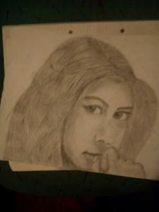 Zufälliges Mädchen Bild (Im Unterricht aus langeweile gemacht) - (Beruf, Gehalt, zeichnen)