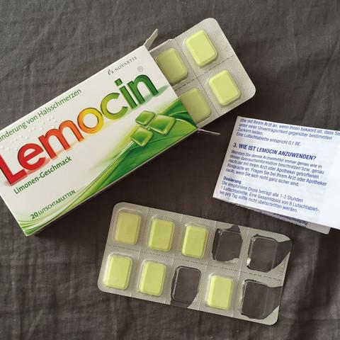 (Bild 1) -> Lemocin Lutschtabletten - (Schule, Gesundheit, Arzt)