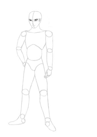 Das ist die (Mänliche) Figur - (Manga, Frisur)