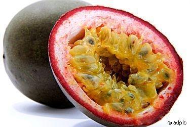 das is ne maracuja (eine hülsenfrucht) - (Früchte, Maracuja)