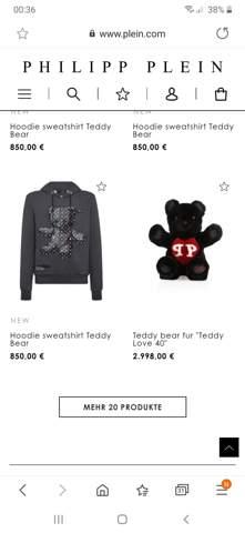 Marktpsychologie verstehen: warum kann solch ein Designer mehr als 2000 Euro fürn Teddy verlangen?