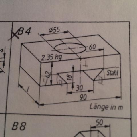Hausaufgabe b4 gesucht Länge in Meter  - (Technik, Maße, Volumen)