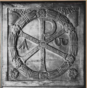 Materialbezeichnung gesucht (Christogramm) - Ist das Marmor?