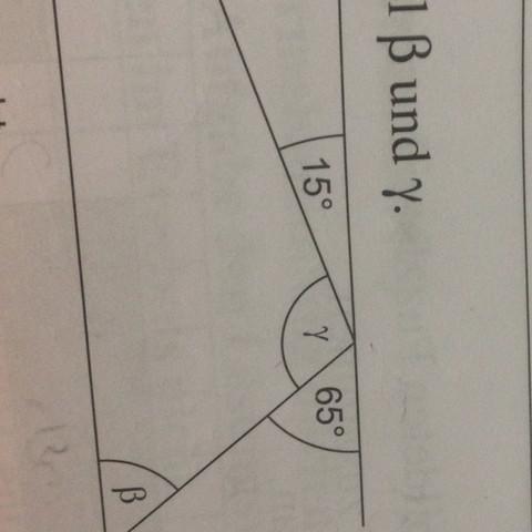 Hier ein Bild was bei Gamma gegeben ist : - (Mathe, Geometrie, Abschlussprüfung)