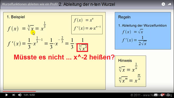 sss - (Mathe, Ableitung)