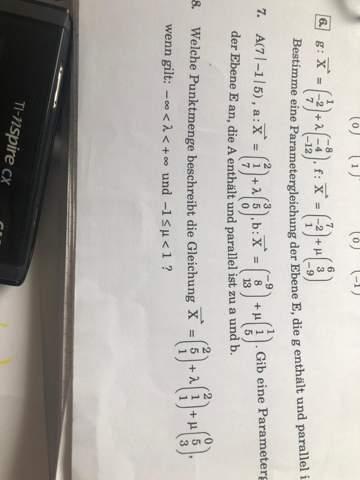 Mathe Aufgabe zur Ebenengleichung?