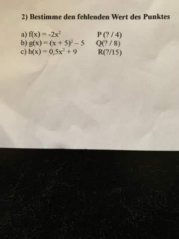 Mathe Aufgaben lösen?
