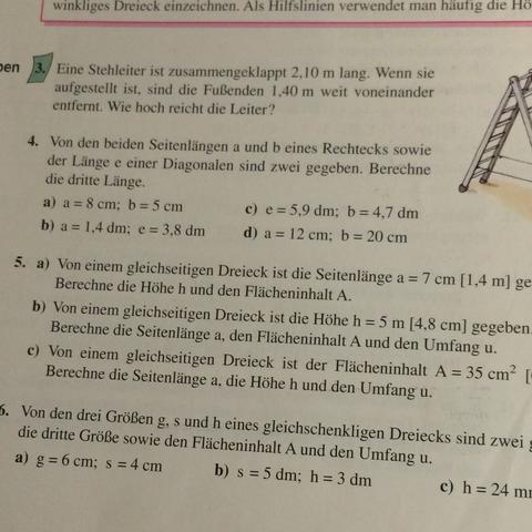 Aufgabe 5b - (Mathe, neunte klasse)