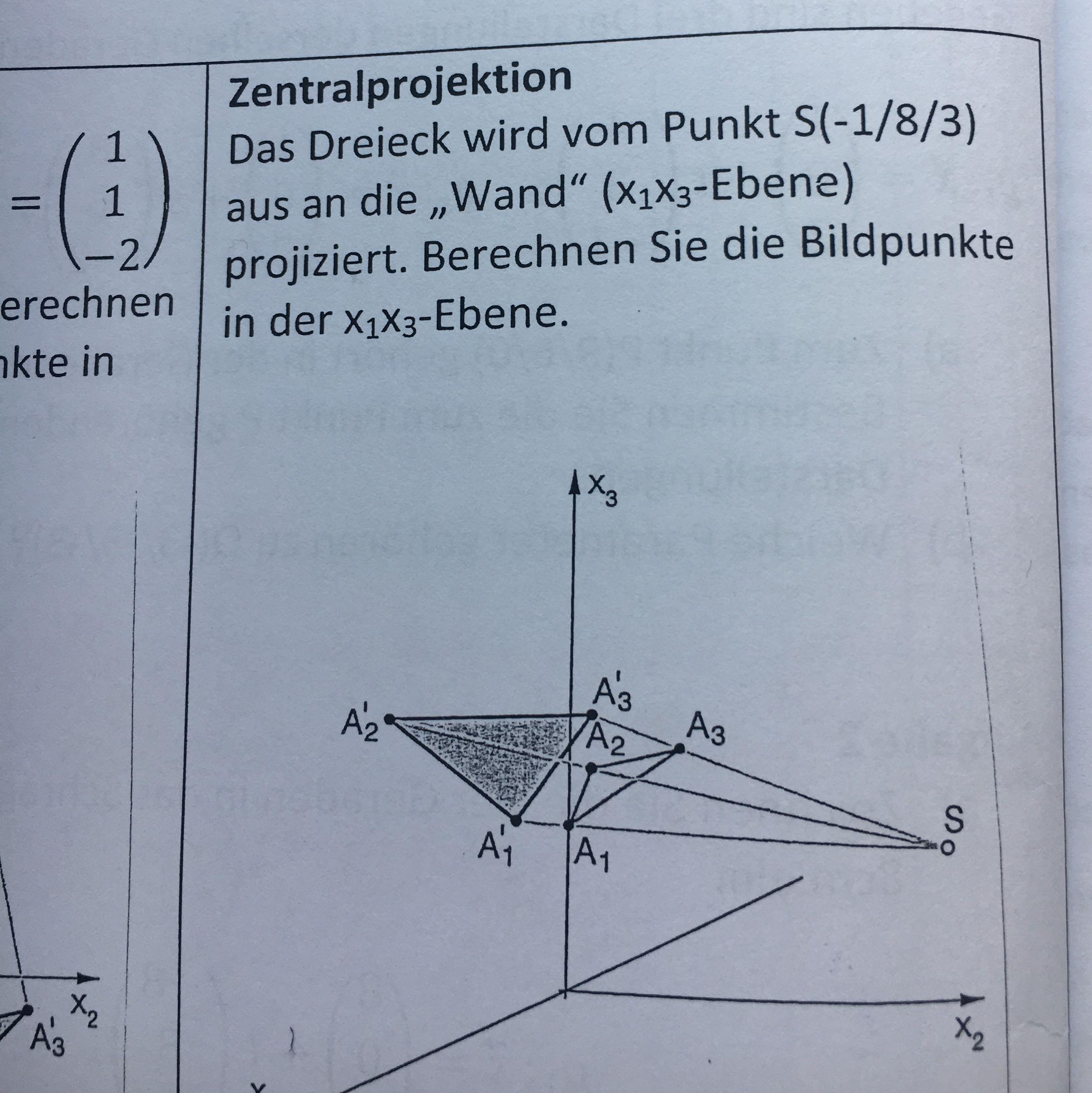 mathe bildpunkte berechnen mathematik ebenen
