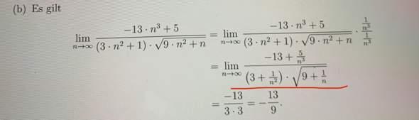Mathe, Folgen, Grenzwert?