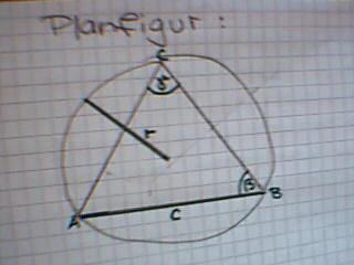 Planfigur. So solls ungefähr aussehen. - (Architektur, Dreieck, Konstruktion)