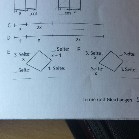 Ich freue mich auf hilfreiche Antworten.  - (Mathe, Gleichungen, textaufgabe)