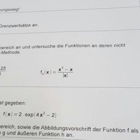 Das ist das selbe nur der rechte Abschnitt fehlte ja - (Mathe, Grenzwert, h-methode)