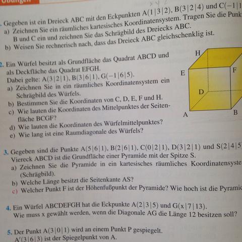 Mathe Aufgabe  - (Mathe, Mathematik, Aufgabe)