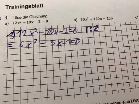 - (Computer, Mathe, Quadratische Gleichung)