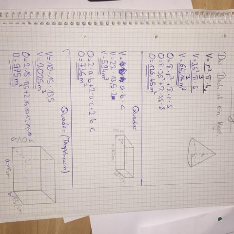 mathe oberfl che berechnen k rper schule lernen zeichnen. Black Bedroom Furniture Sets. Home Design Ideas