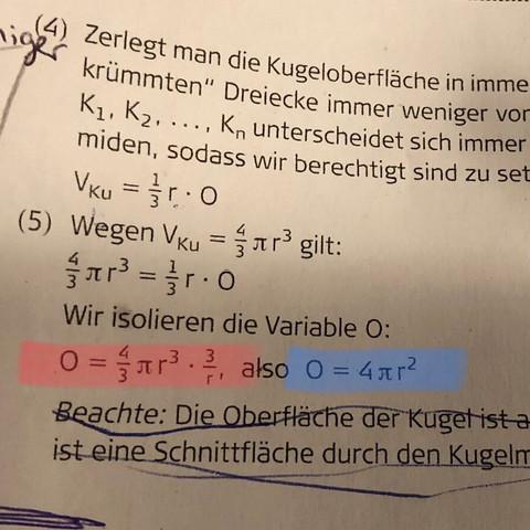 Da bitte eine umformungsrechnung danke - (Schule, Mathe, Mathematik)
