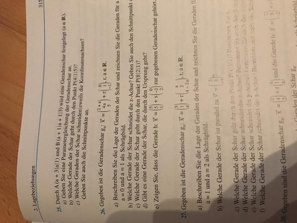 Büschelpunkt Berechnen : mathe paramtergleichung geradenschar ~ Themetempest.com Abrechnung
