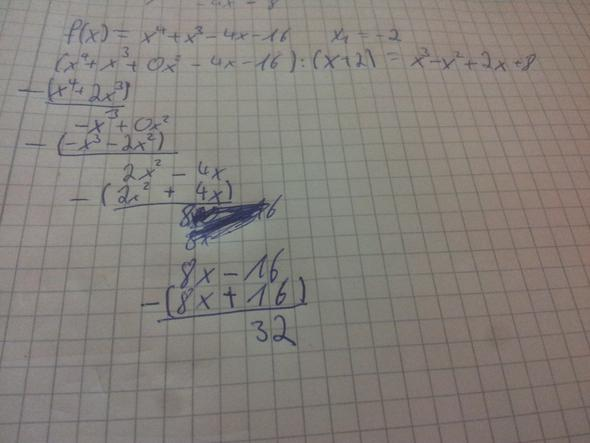 polynomdivision - (Mathe, Mathematik)