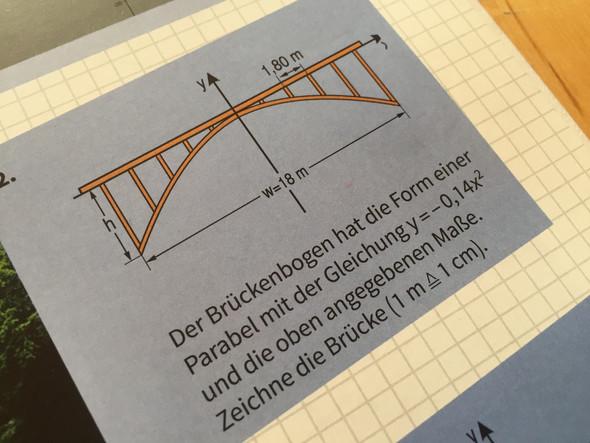 Ich weiß jetzt ja das x=18meter - (Mathe, Quadratische Funktionen)
