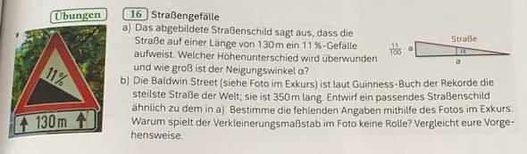 Mathe/ Straße?