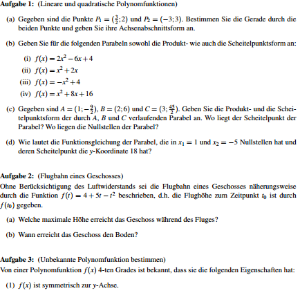 1. - (Schule, Mathematik, Nachhilfe)