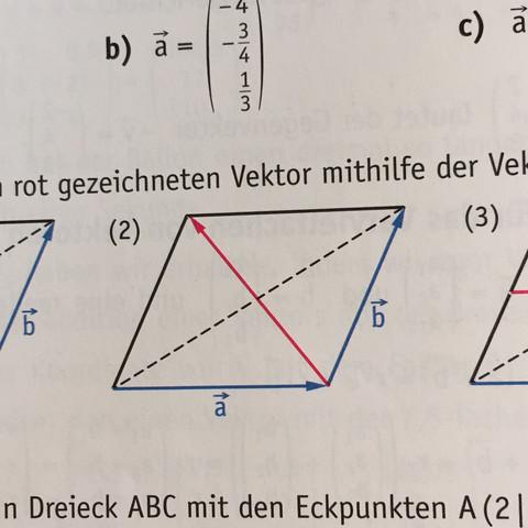 Mathe: Vektor bestimmen?