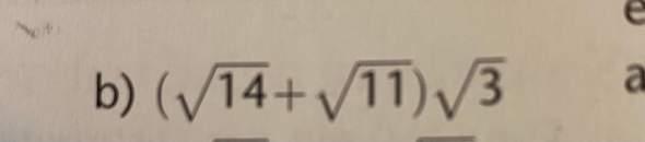 Mathe: Wurzeln addieren?