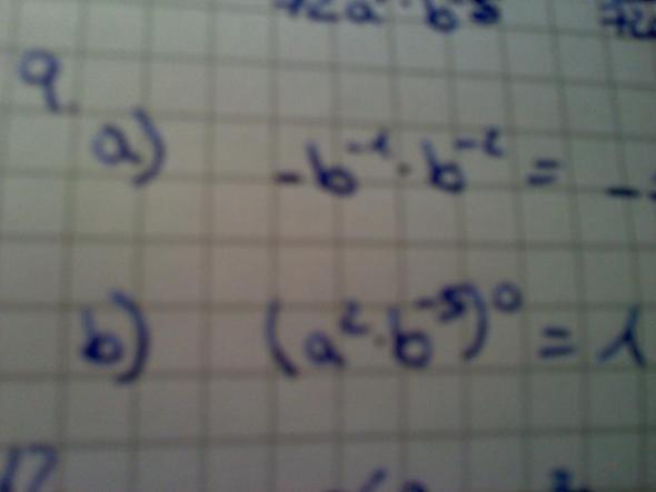 9 a), b) - (Mathe, Mathematik, potenz)
