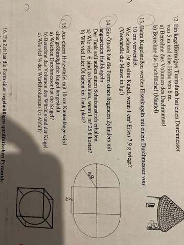 MatheKörperberechnungen?