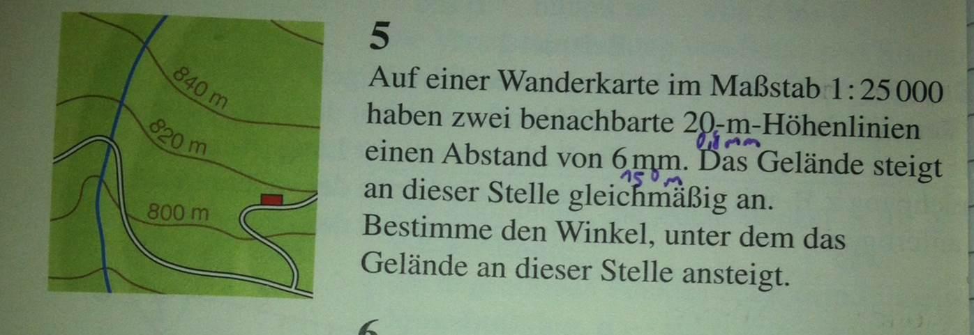 Mathematik, 9te Klasse, Trigonometrie, Aufgabe? (Mathe, Lambacher ...