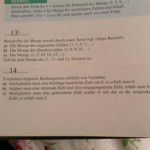 Aufgabe 14 :-) - (Mathe, Mathematik, Aufgabe)