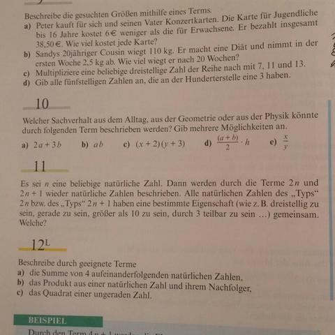 Aufgabe 10 :-) - (Mathe, Mathematik, Aufgabe)