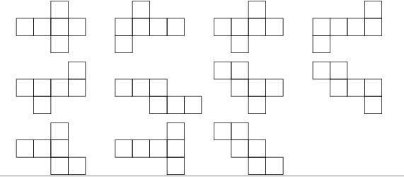 Mathematik Geometrie: Wann ist ein Patron (auf franz., wie auf deutsch?) ein Patron eines Würfels?