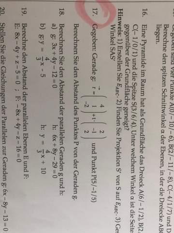 Mathematik Gerade