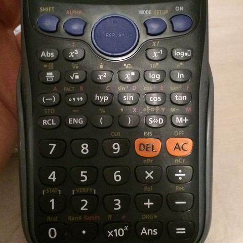 So sieht mein Taschenrechner aus :-) - (Mathe, Taschenrechner)