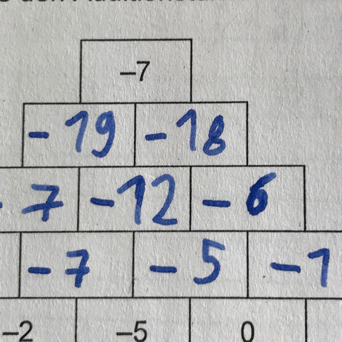Da müsste doch oben -37 raus kommen oder nicht??? - (Mathematik, Ausbildung und Studium, minuszahlen)
