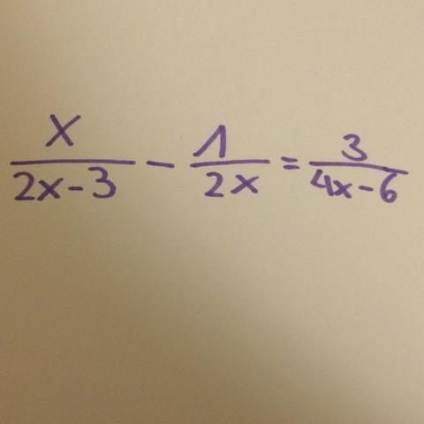 Bruchgleichung - (Mathematik, Gleichungen, Bruch)