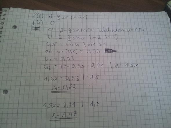 mathematik sunusfunktion nullstellen berechnen mathe physik funktion. Black Bedroom Furniture Sets. Home Design Ideas