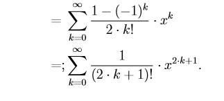 Mathematische Umformung einer Reihe?