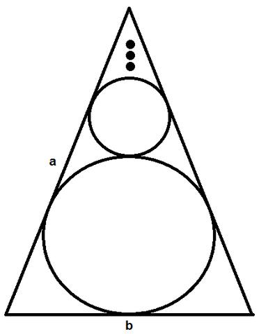Kreise im Dreieck - (Mathe, Geometrie)